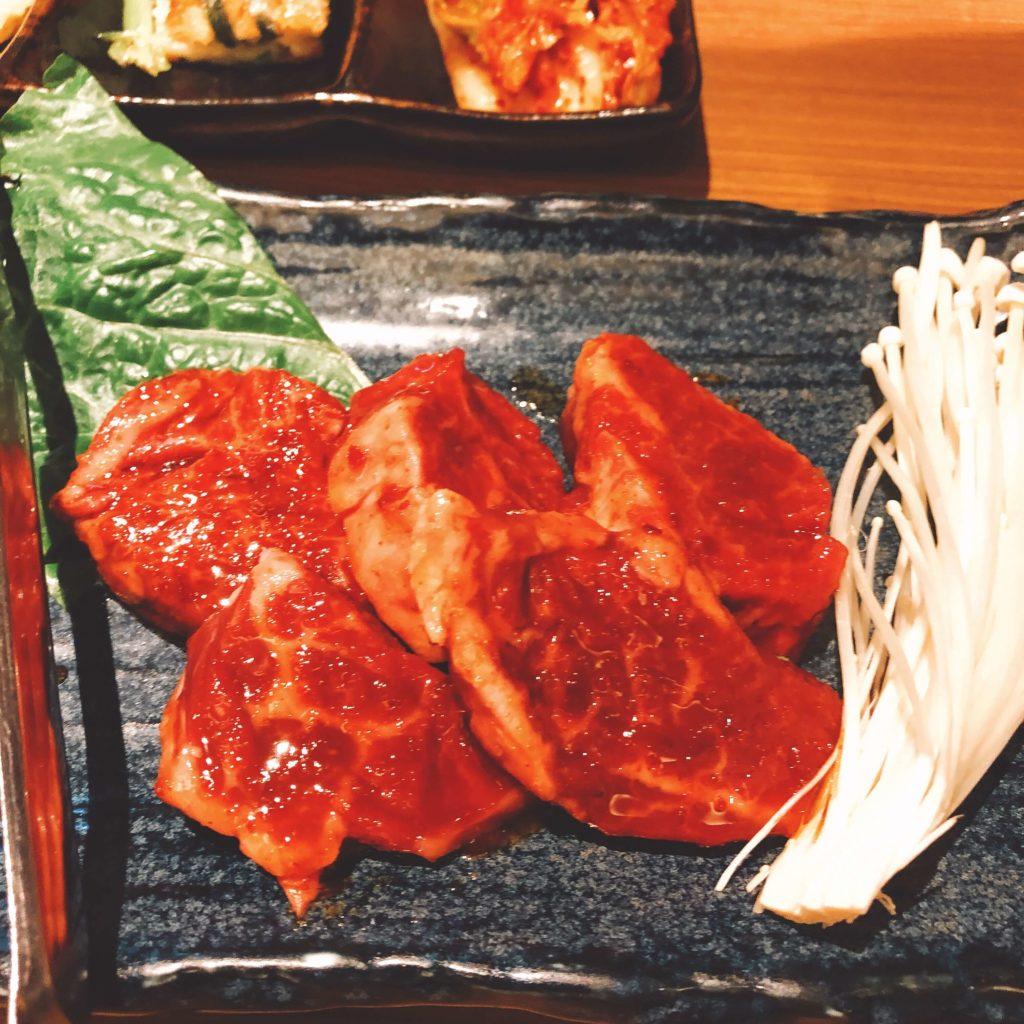 焼肉絆のハラミ定食