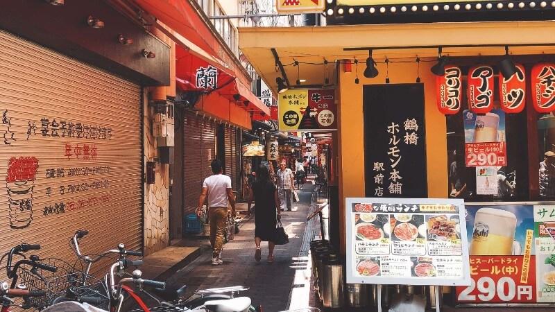 大阪鶴橋駅周辺の焼肉屋さん