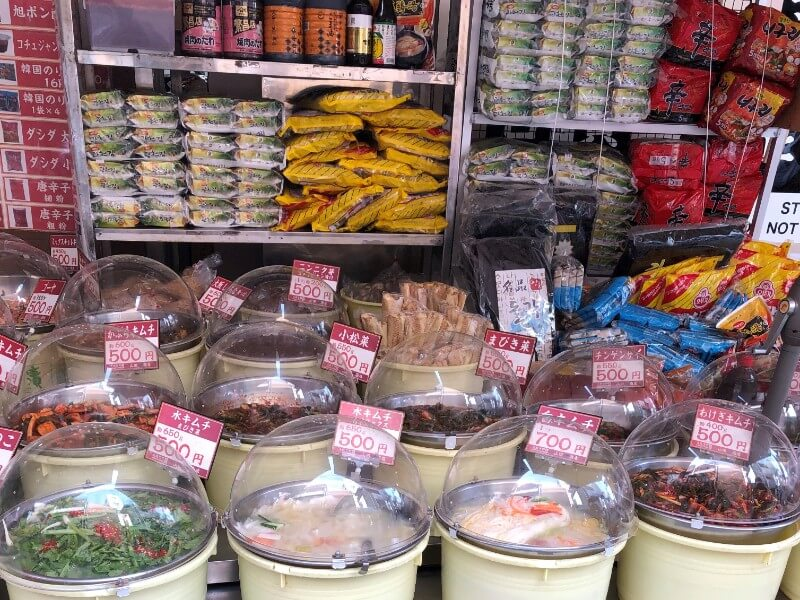 山田商店|どんなキムチが買えるの?