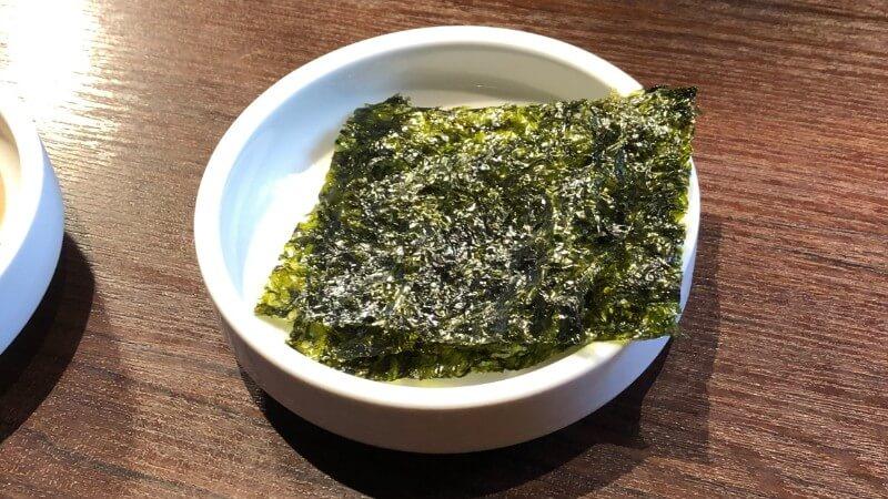 百済離宮|ランチにハラミ焼肉定食を注文
