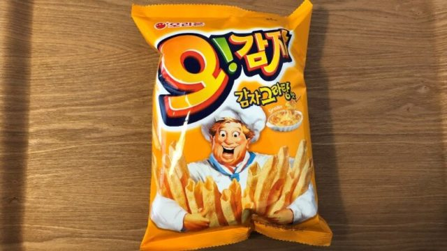 鶴橋で買った【オー!カムジャ グランタン味】っておいしいのかな?