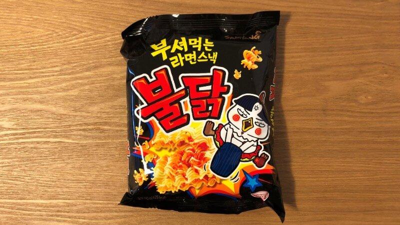 プルダックスナック|激辛な韓国料理をお菓子にしたらどんな味?