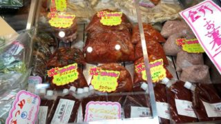 丸金商店|あっさり辛口キムチがおいしい!鶴橋東口すぐ右隣のお店!