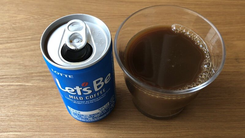 韓国缶コーヒー「レッツビー」の味は?