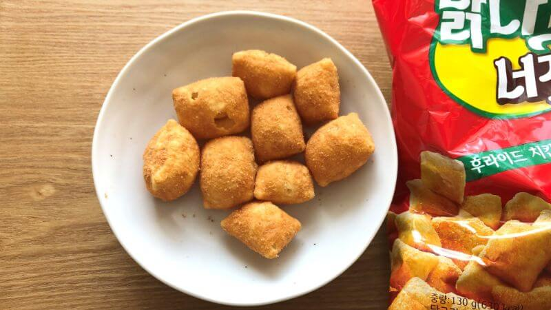 韓国スナック菓子「チキンナゲット」の味は?