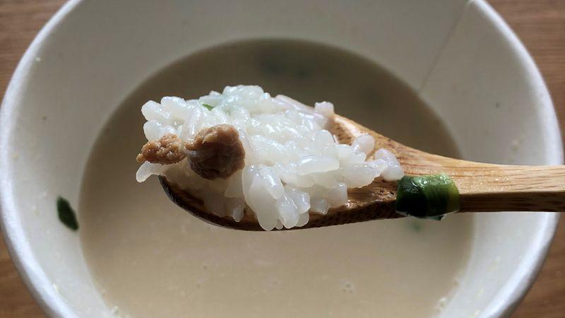 レンジdeクッパ コムタンスープの味は?