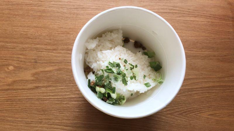 レンジdeクッパ コムタンスープの作り方