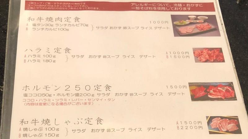 海南亭鶴橋店のメニュー