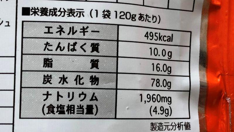 三養ラーメンのカロリーや原材料