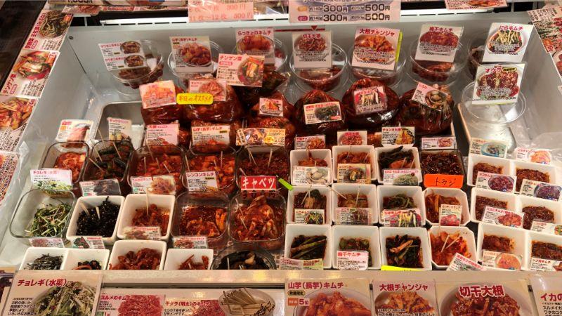 チャングァンのキムチやほかの商品