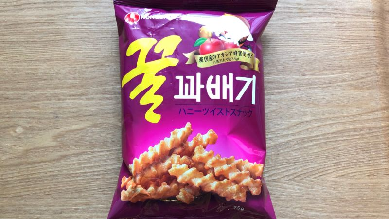 ハニーツイストスナック|アカシア蜂蜜入りの甘くておいしい韓国菓子