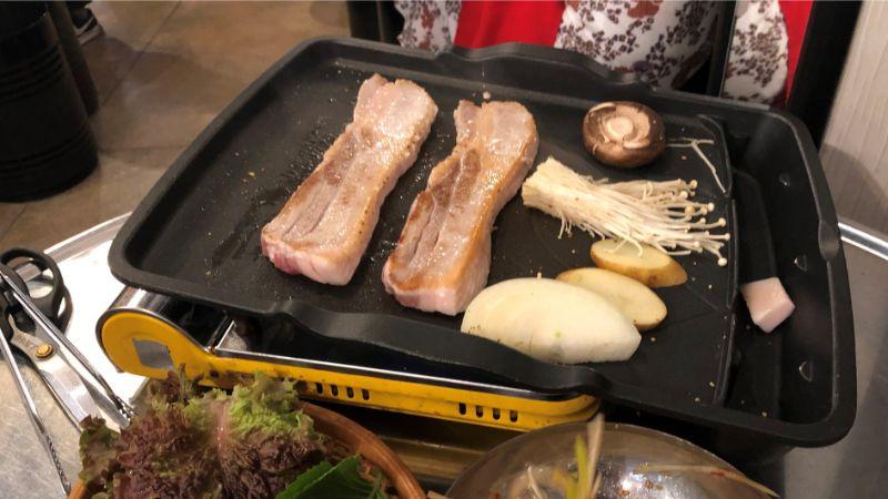 ナップンナムジャのサムギョプサル
