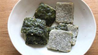 bibigo海苔スナック|オーブンで焼かれたパリパリ食感のお菓子
