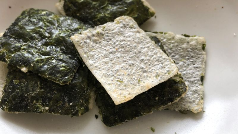 bibigo海苔スナックの味