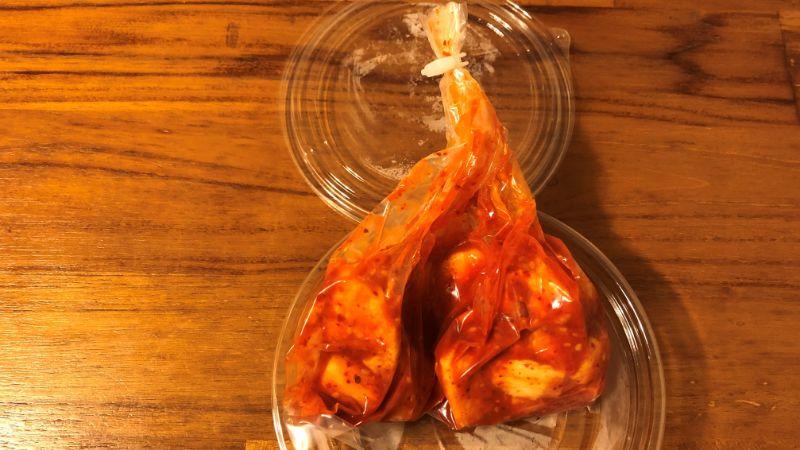 黄さんの手作りキムチの味は?
