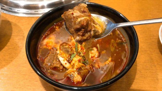 明月館上本町店|韓国スープもおいしい!行列の出来る人気焼肉店!